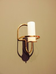 Candle holder in brass