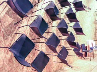 Chairs on the wall
