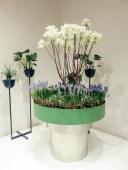 NOLA piedestal and outdoor planter.