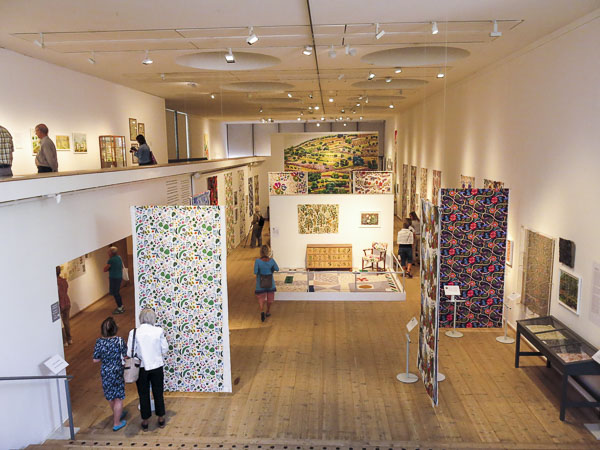the josef frank exhibition at millesgården