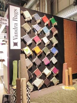 Carpet patterns.