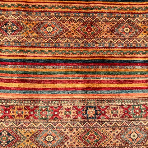 Oriental carpet. Love this one.