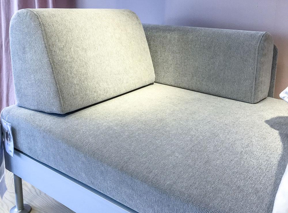 sofa, delaktig, ikea