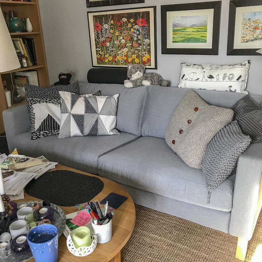 sofa, ika, karlstad