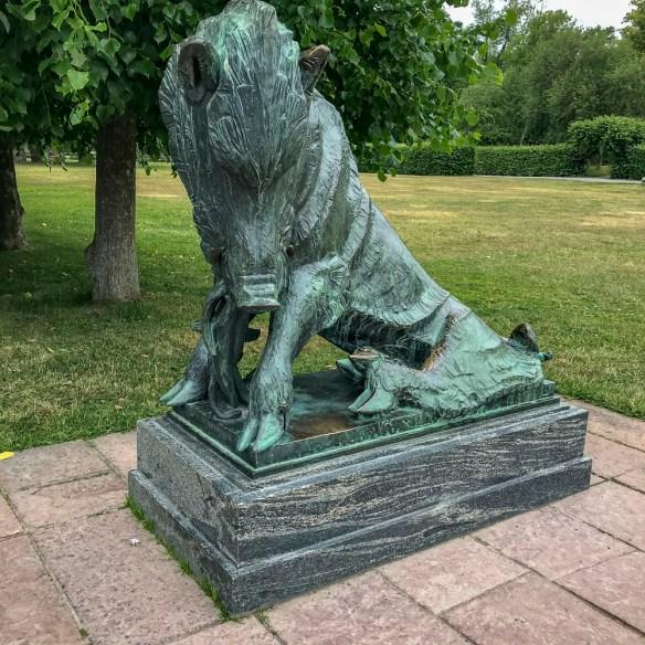 boar, ulriksdalpalacepark