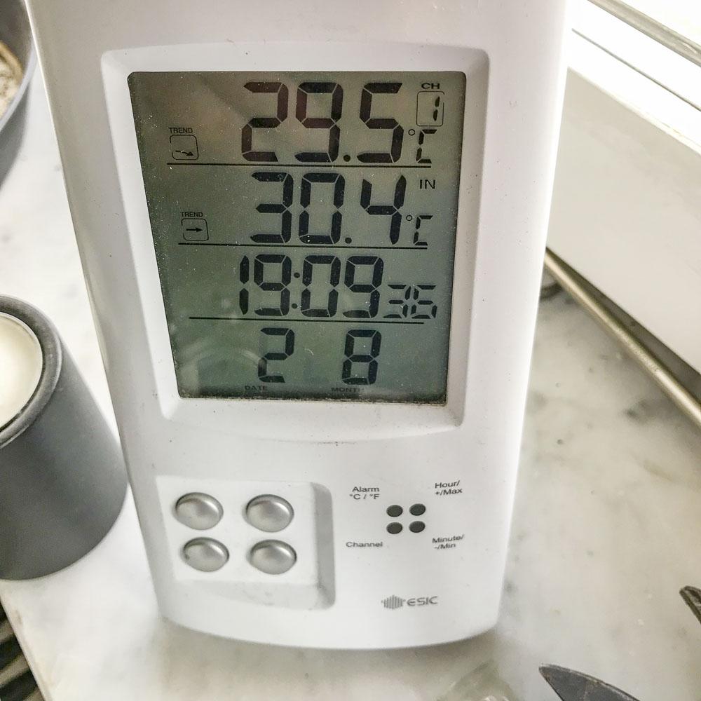 hot, temperature, thermometer