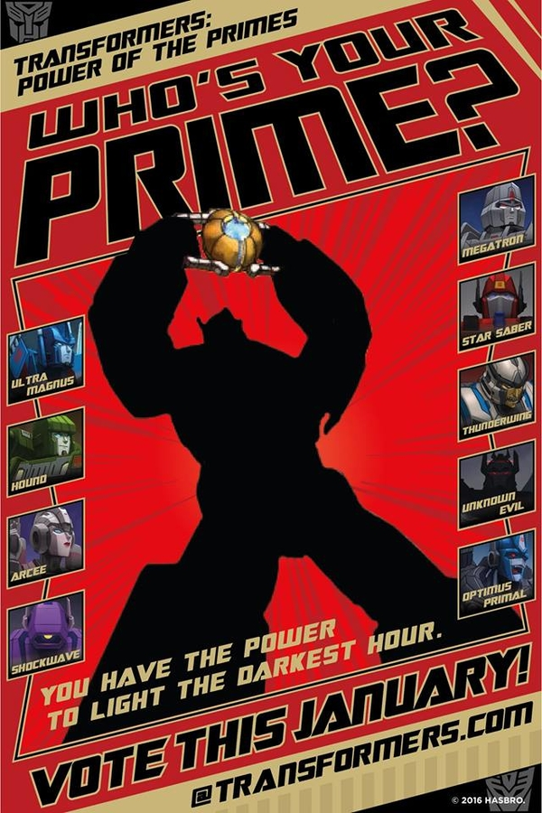 Transformers Power of the Primes - which figures are we going to see?