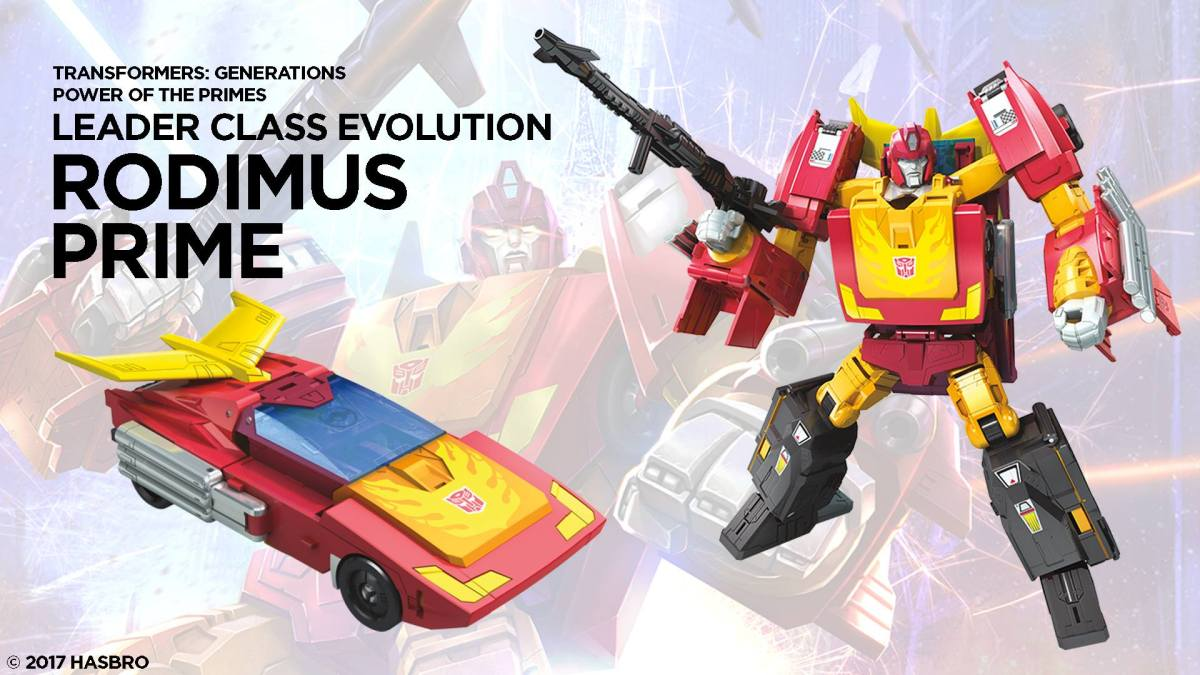 Transformers Power of the Primes full list revealed