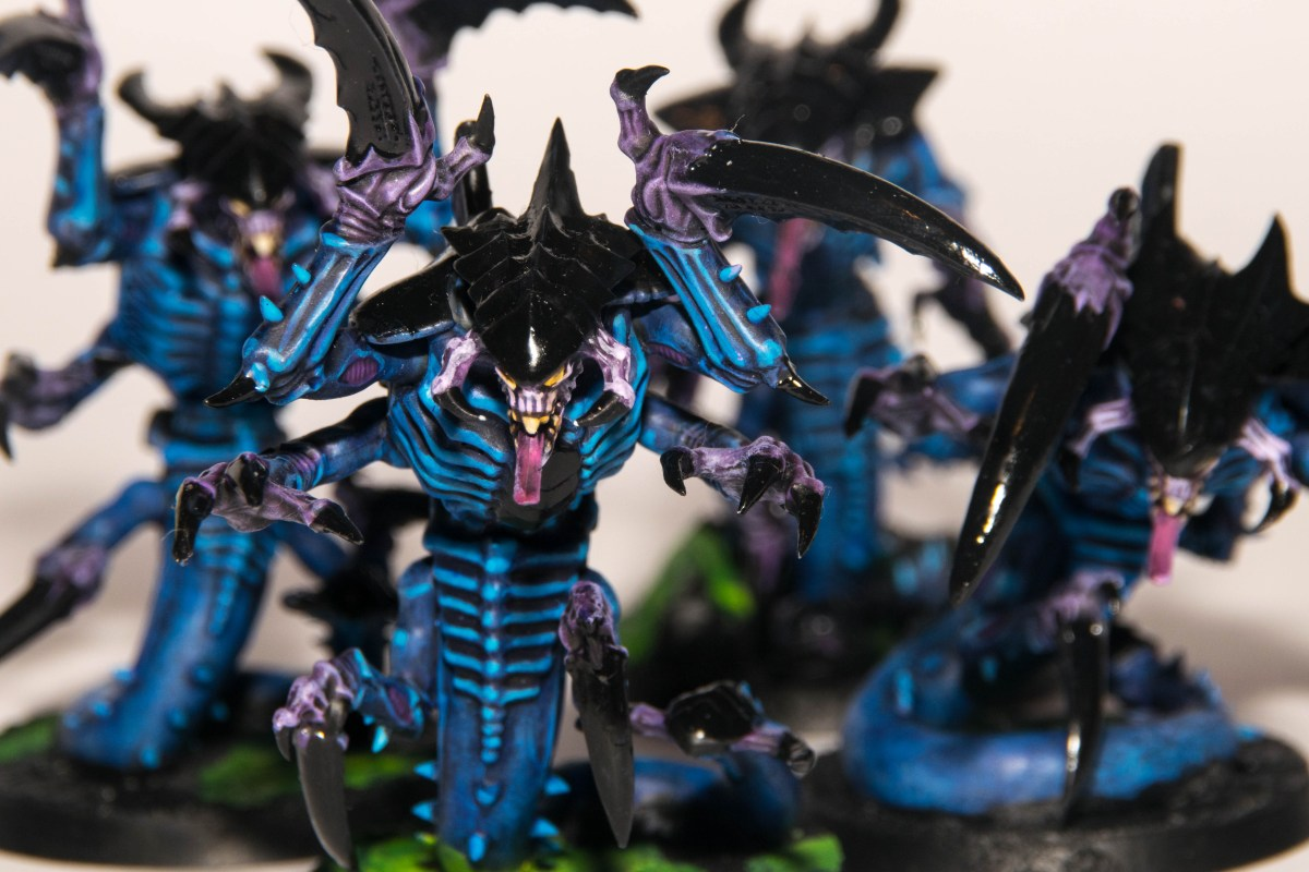 Armies on Parade - Hive Fleet Hydra (inspired by Space Hulk)