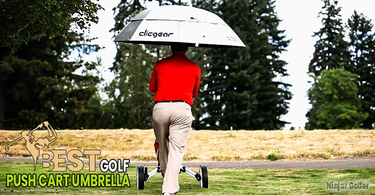 Golf Push Cart Umbrella