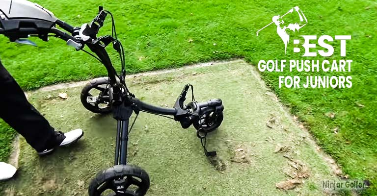 Golf Push Cart for Juniors