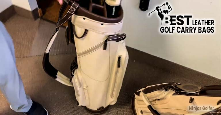Leather Golf Carry Bags