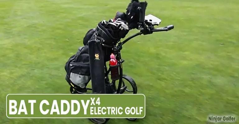 Bat Caddy X4 Electric Golf