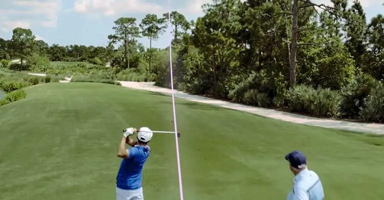 Cut Shot in Golf