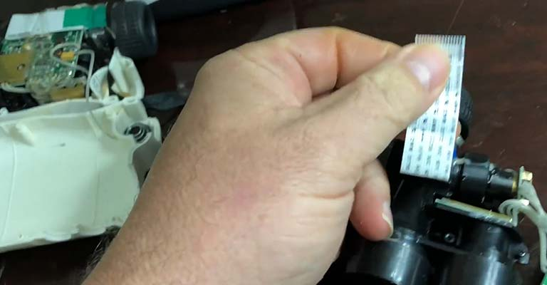 Cleaning the Inside of a Golf Rangefinder