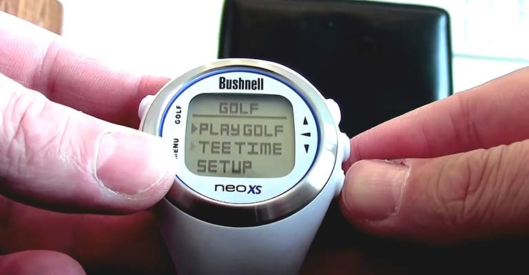 How to Reset Bushnell Neo XS