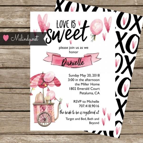 Download Sweet Treats Invitations