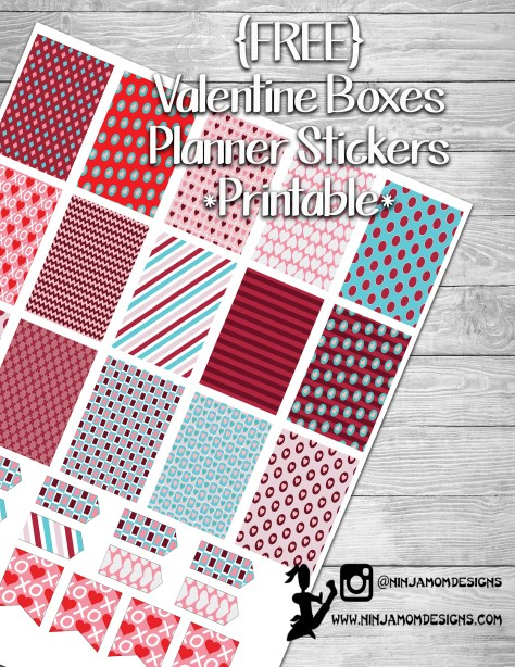 Free Valentine Printable Cover