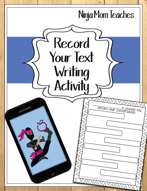 Text Activity Cover