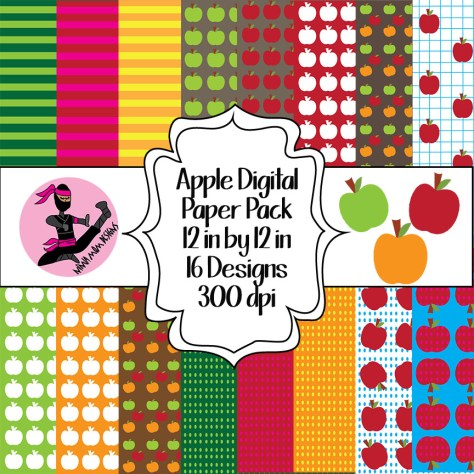 apple paper cover