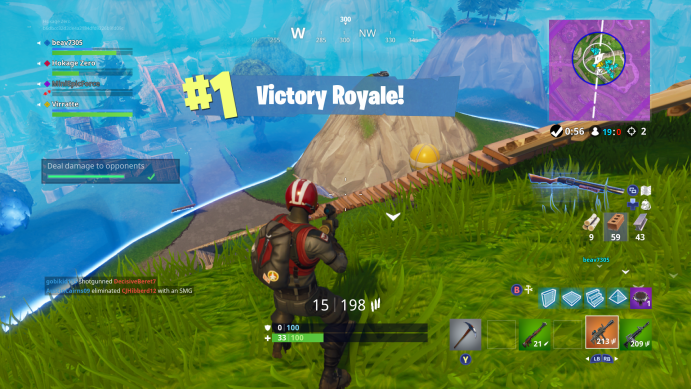then you have theoretically 50 people to take shots at as they start to move against your team - fortnite 50 vs 50 comment faire