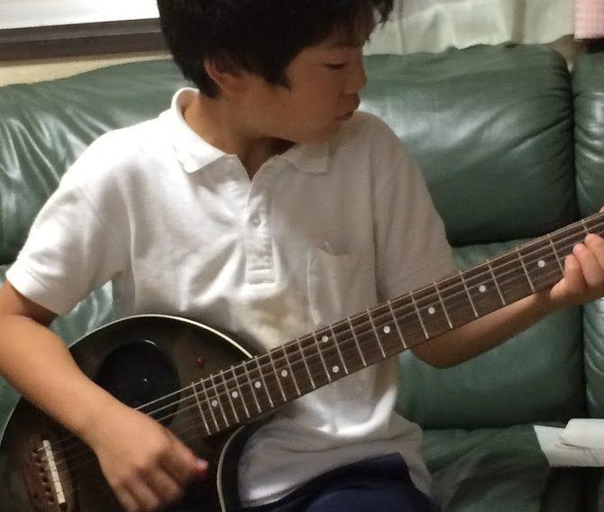 ギタリスト 小学生