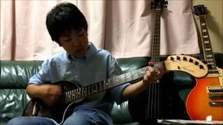 シェリー/尾崎 豊 ギター弾き語り(10歳)