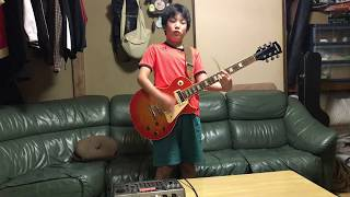 哀愁交差点/ジャパハリネット ギターコピー(11歳)