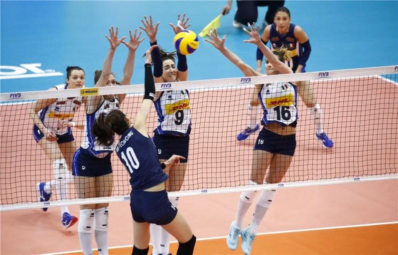 Defensa, contraataque y apoyo en el voleibol