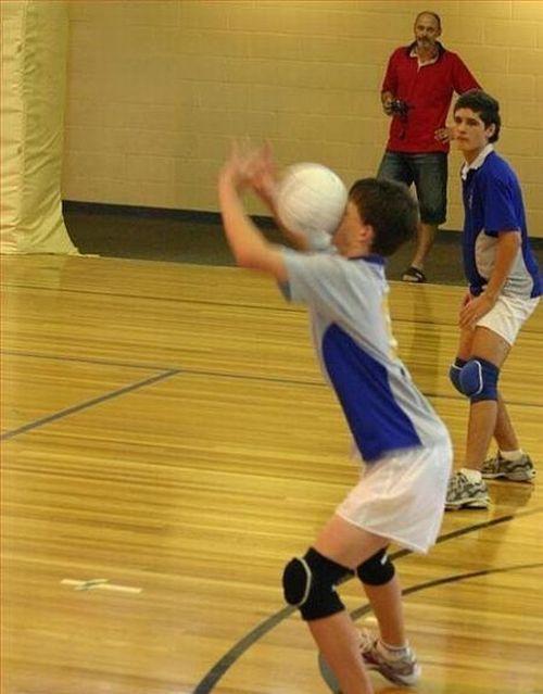 La gestión del error en el voleibol