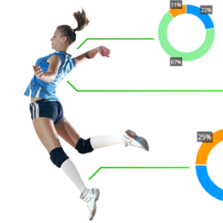 Data volley, scouting, estadísticas en el voleibol