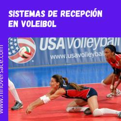 Sistemas de recepción en el voleibol