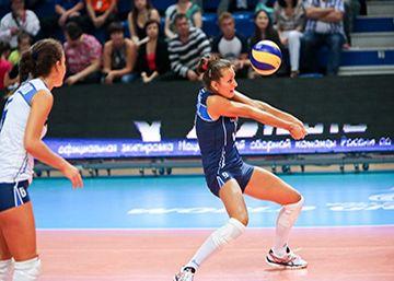 Ejercicios de recepción voleibol