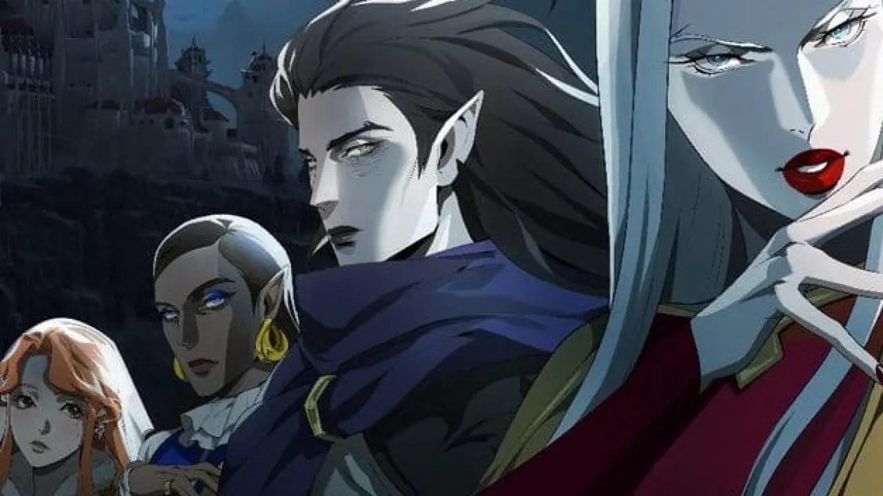 Primera imagen de la tercera temporada de la serie de Castlevania ...