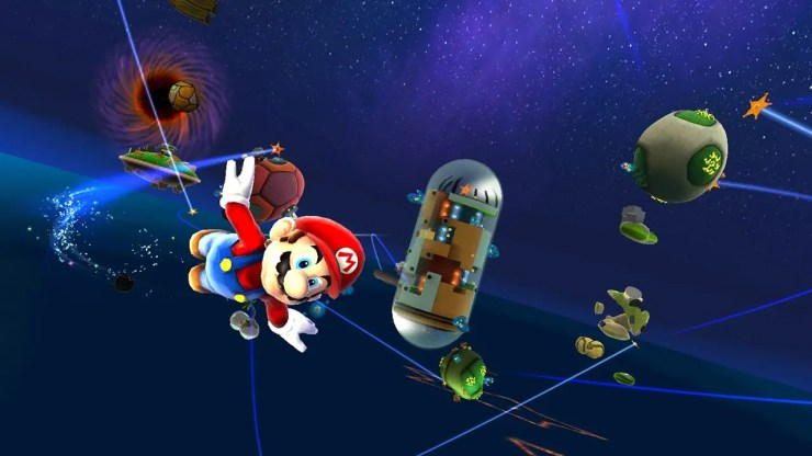 Super Mario Galaxy 3D all-Stars