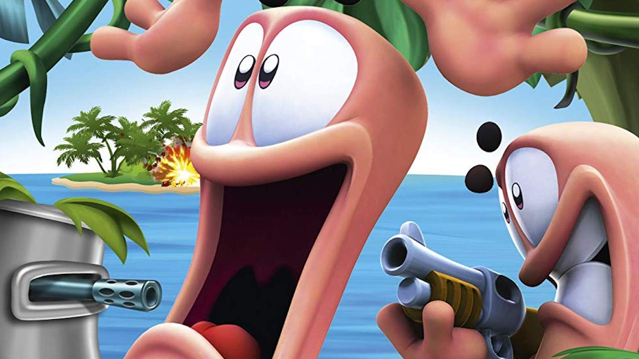 Worms Battle Islands Review Header
