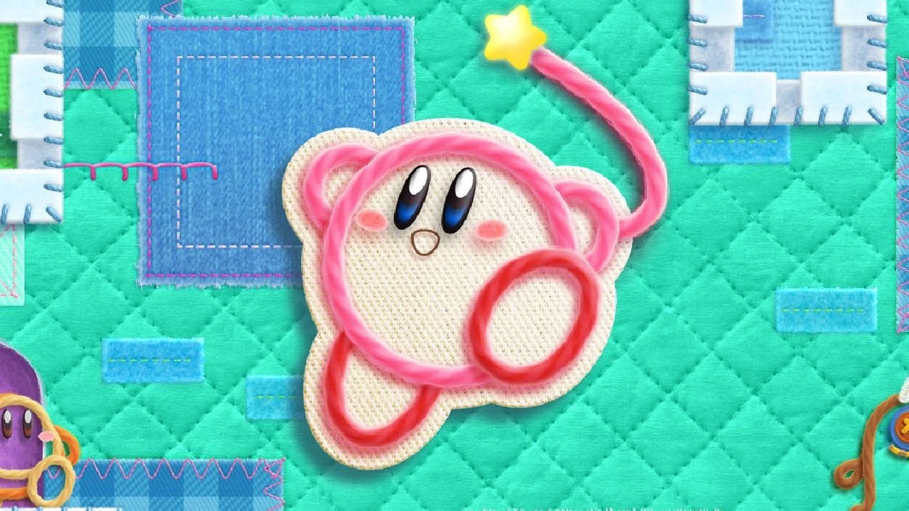 Kirby's Epic Yarn Review Header