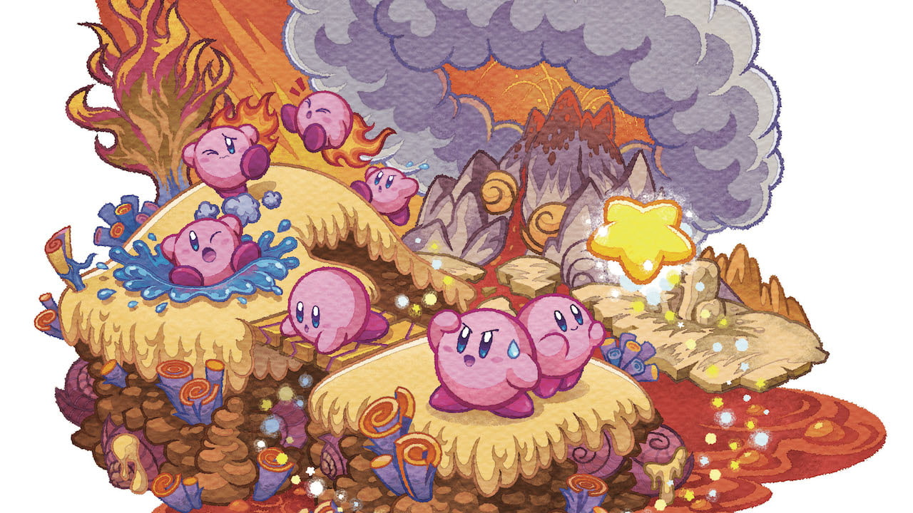 Kirby Mass Attack Review Header