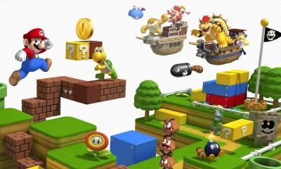 Super Mario 3D Land Review Header