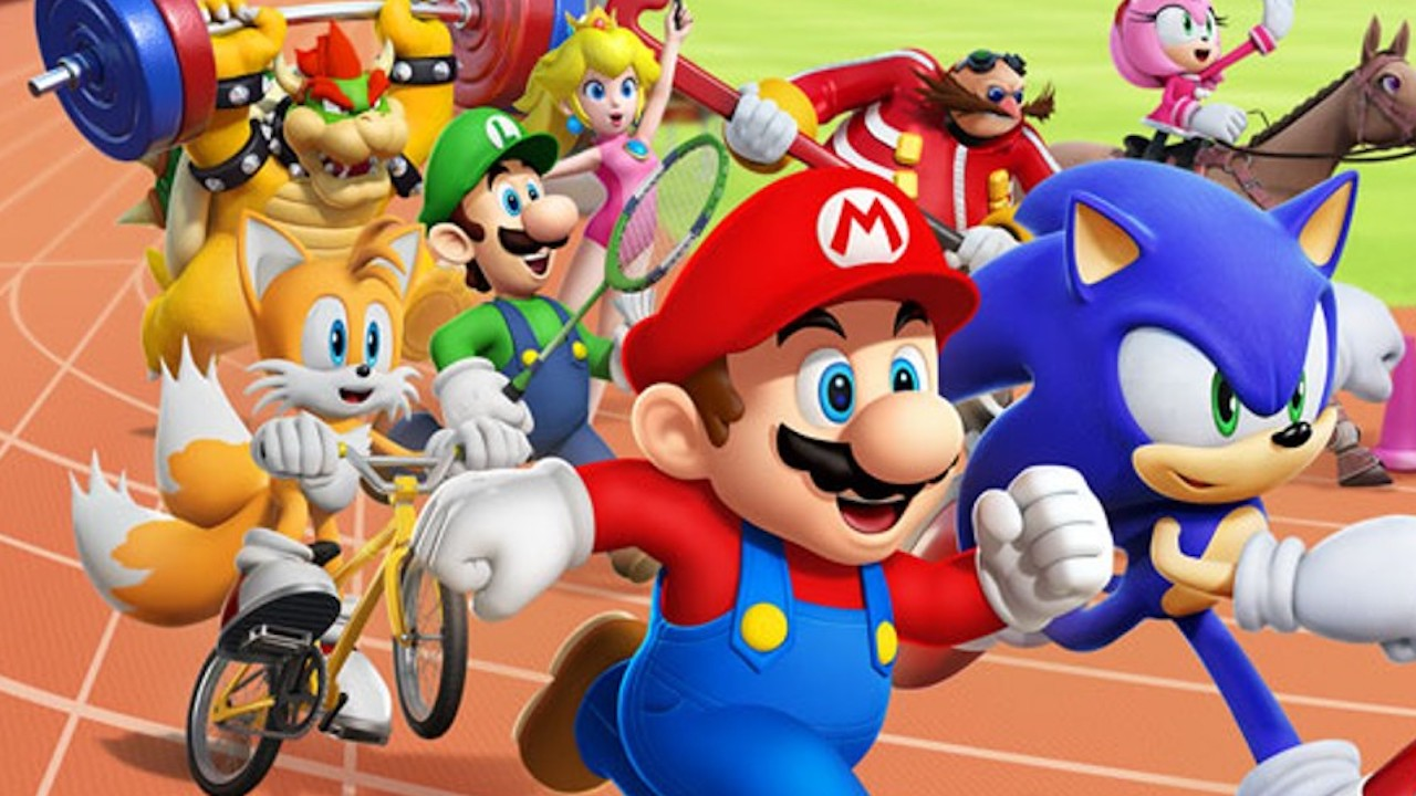 Mario & Sonic At The London 2012 Olympic Games Wii Review Banner