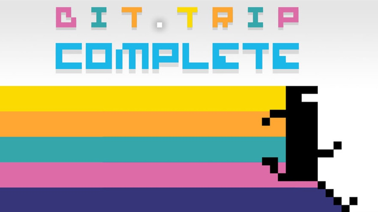 BIT.TRIP COMPLETE Review Banner