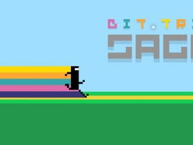 BIT.TRIP SAGA Review Banner