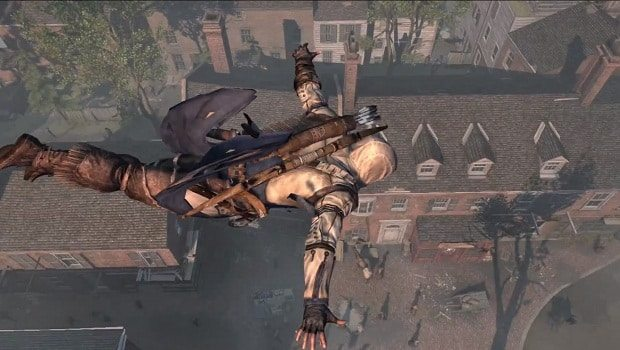 Assassin S Creed Iii Launch Trailer Takes A Leap Of Faith