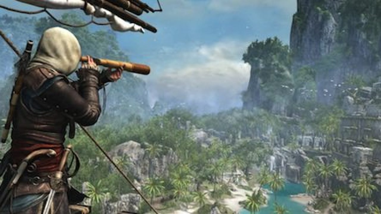 Assassin S Creed 4 Black Flag Gameplay Trailer Shows Open World