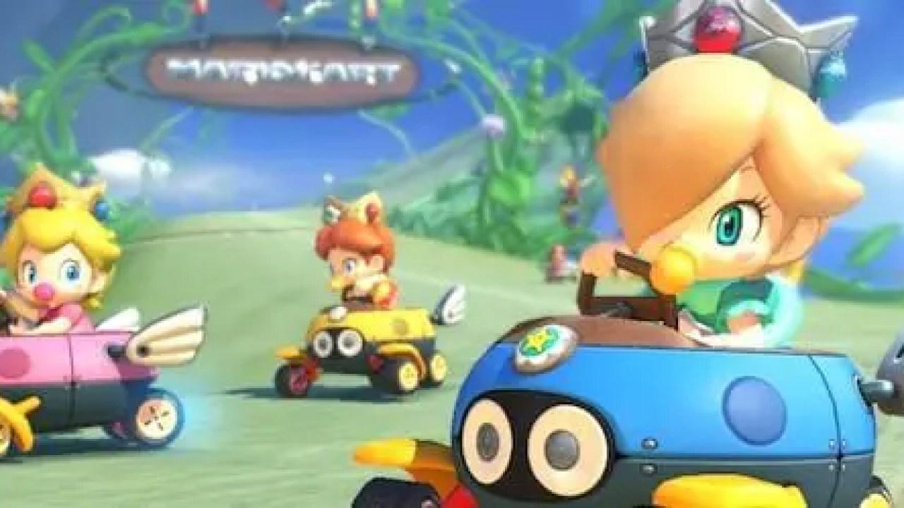 Pink Gold Peach Baby Rosalina And Miis Join Mario Kart 8