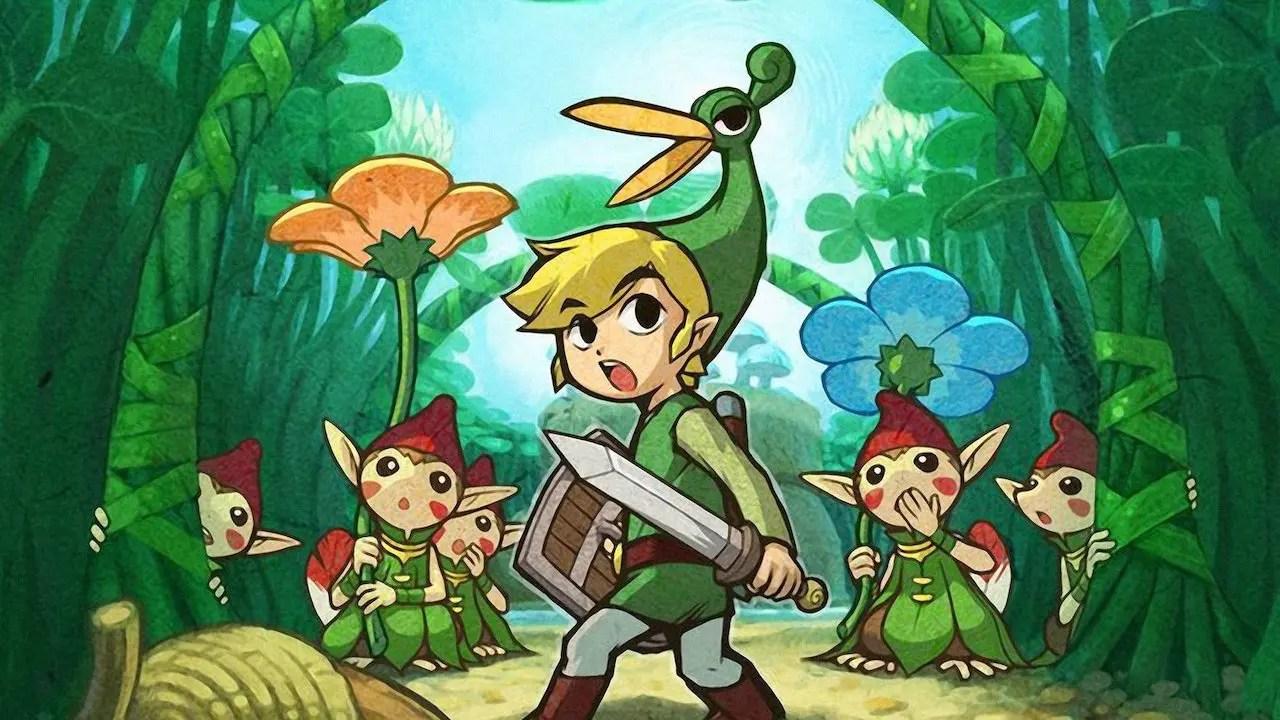 The Legend Of Zelda: The Minish Cap Review Header