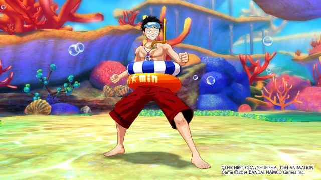 one-piece-unlimited-world-red-luffy-swimsuit-costume-screenshot-1