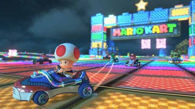 snes-rainbow-road-mario-kart-8