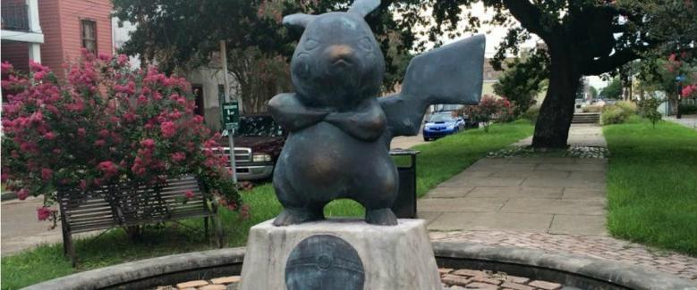 pikachu-statue-new-orleans