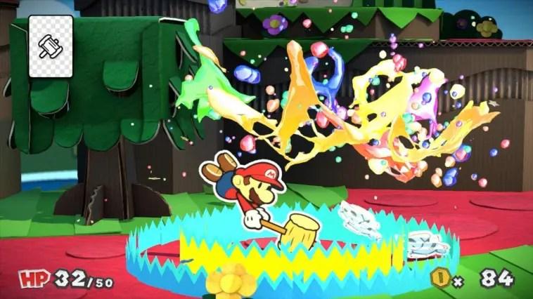 Paper Mario: Color Splash Review Screenshot 2